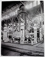 NESCO Exhibit at the 1904 World's Fair in St. Louis.