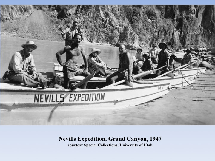 historic photo of people on an expedition boat