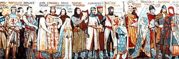 Scottish Kings and Heroes