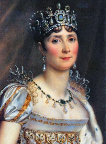 Baron François Gérard - Joséphine in coronation costume