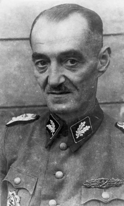 Dr. Oskar Dirlewanger pictured in 1944