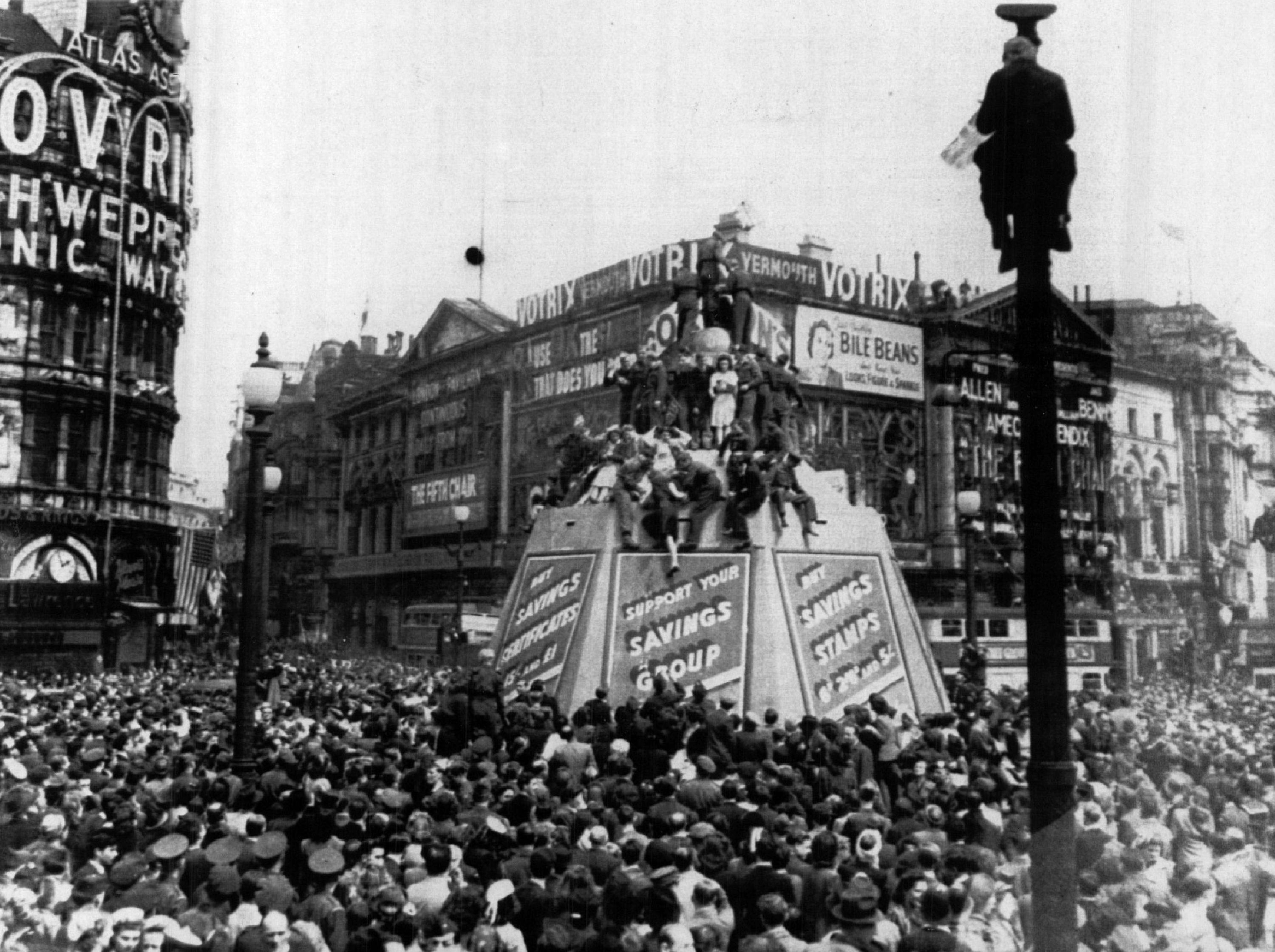 Ve Day How The End Of World War Ii Was Celebrated