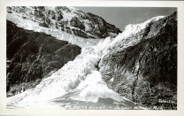 Mt. Edith Cavell - Jasper National Park. Photographed and Copyrighted by Tom H. Johnston, Jasper, Alberta, after 1940. peel.library.ualberta.ca/postcards/PC014361.html
