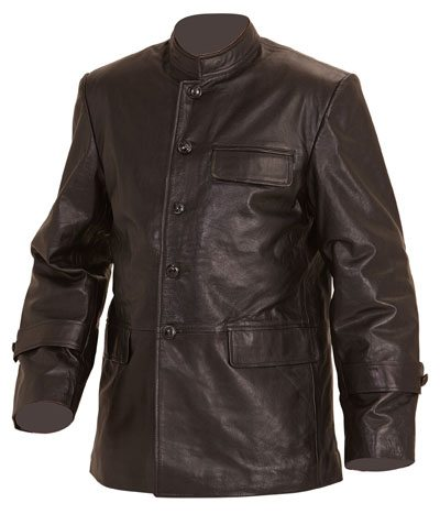 Eric Hartmann Leather Flying Jacket | Reproduction WW1 and WW2