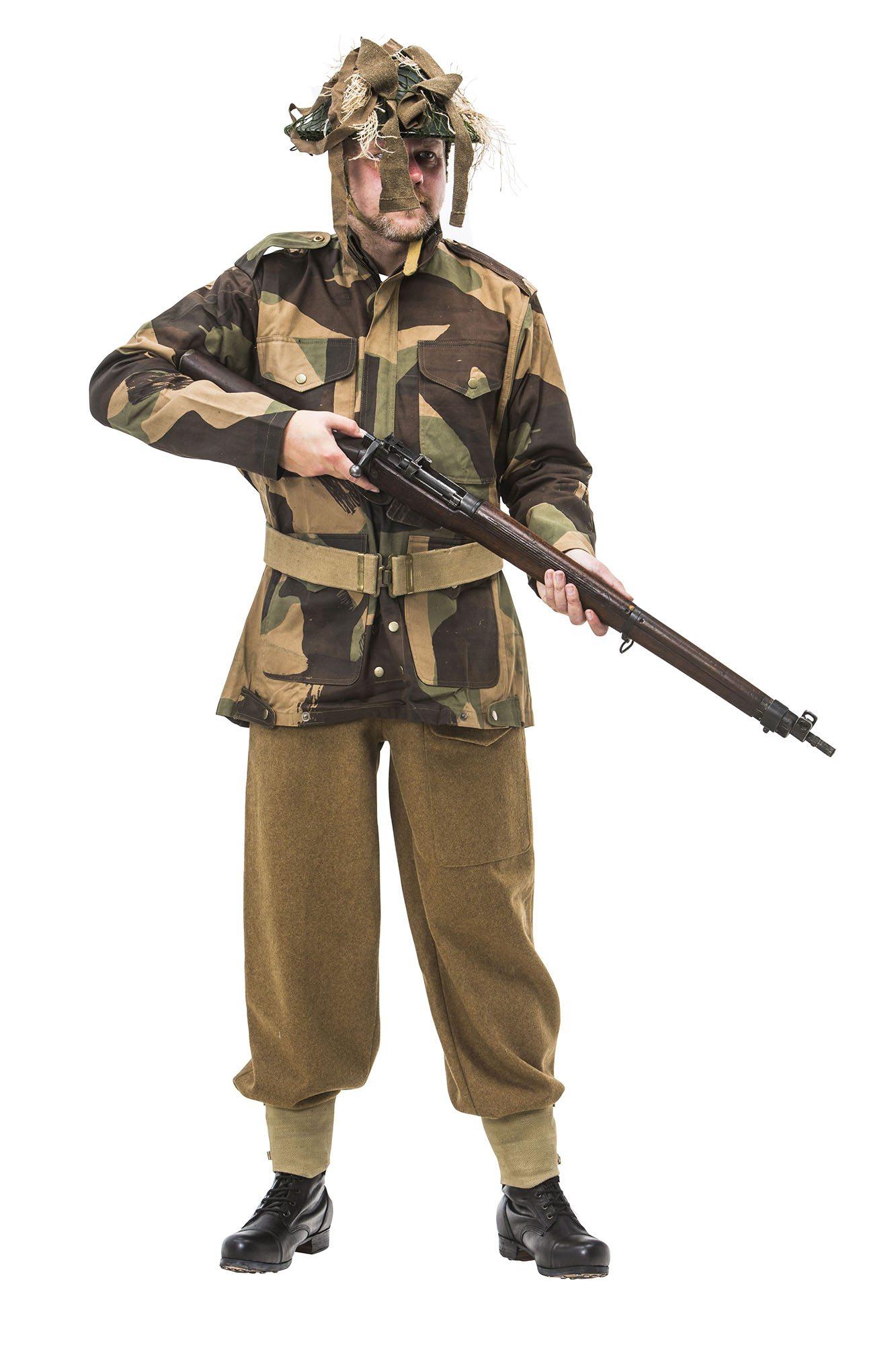 Ww2 British Army Sniper Uniform Reproduction Ww1 And Ww2