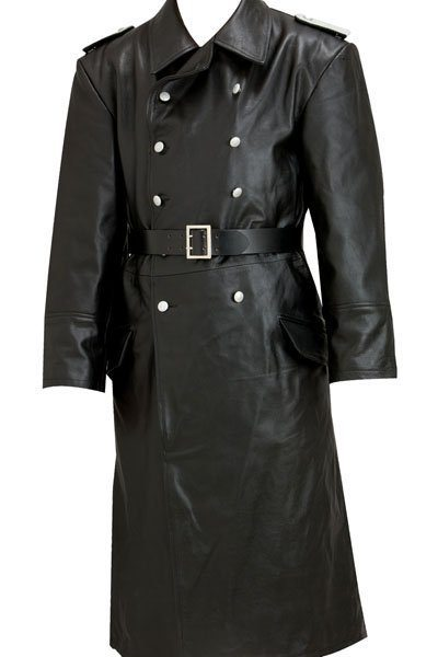 WW2 German Army officer leather trench coat | Reproduction WW1 and ...