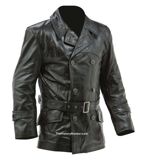 Leather Black Ww2 And Ww1 Jackets Trousers And Coats