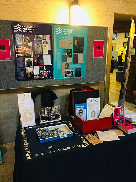 The Churchill Archives Centre at History Day 2018
