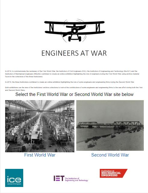 History Day 2019 & Engineers at War