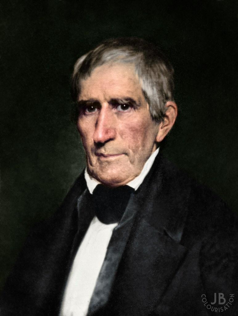 Portrait of William Henry Harrison