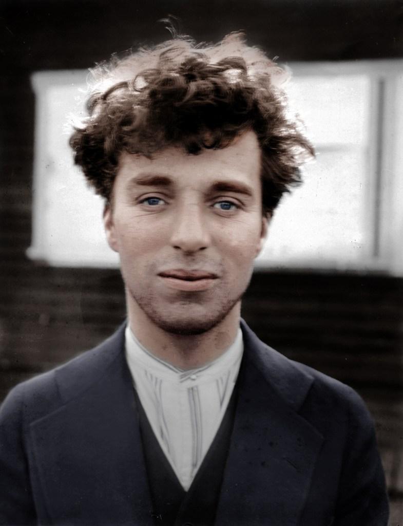 Charlie Chaplin Colorized 1916