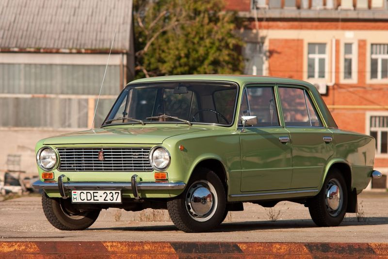 Lada Soviet Car