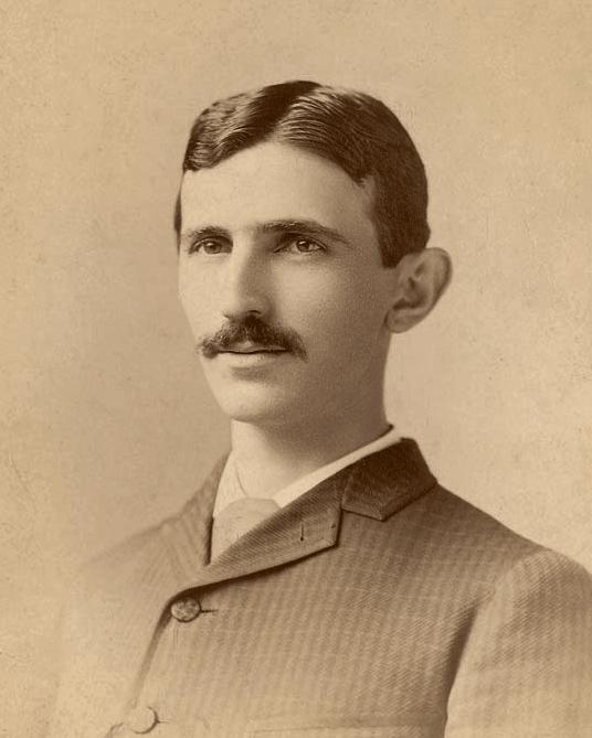 Nikola Tesla 1895