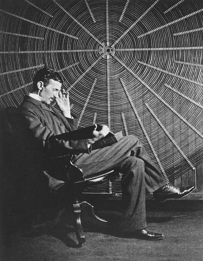 Nikola Tesla 1896