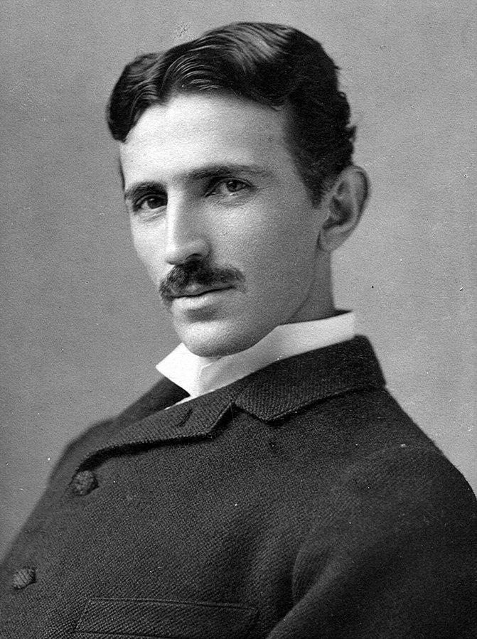 Nikola Tesla 1890