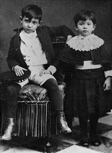 Pablo Picasso as a child