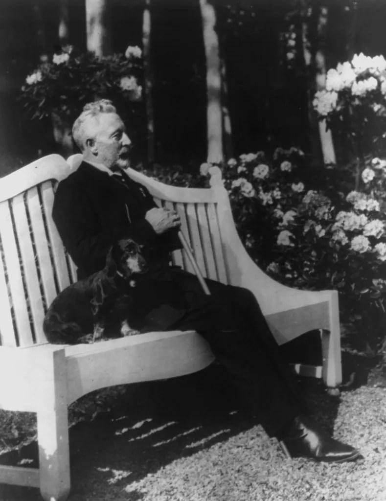 Wilhelm II in exile 1922