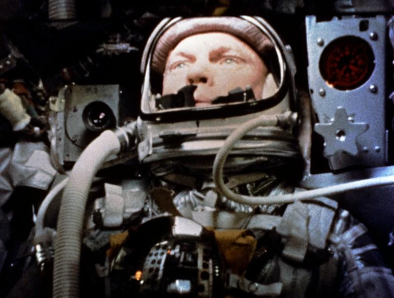 John Glenn in orbit (Mercury-Atlas 6)