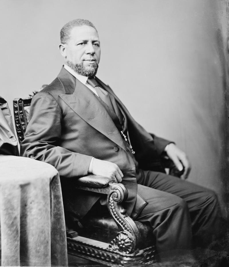 First Black American US Senator, Hiram Rhodes Revels