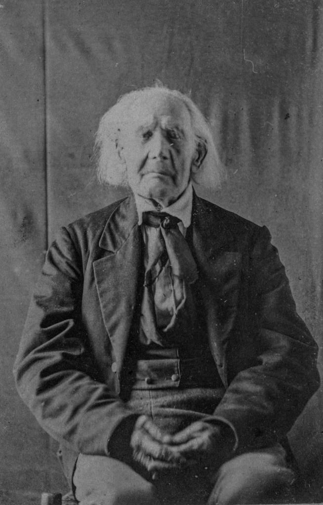 American Revolutionary War veteran Samuel Downing aged 102.