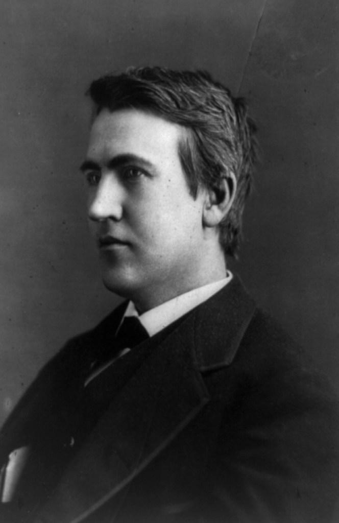 Thomas Edison in 1880