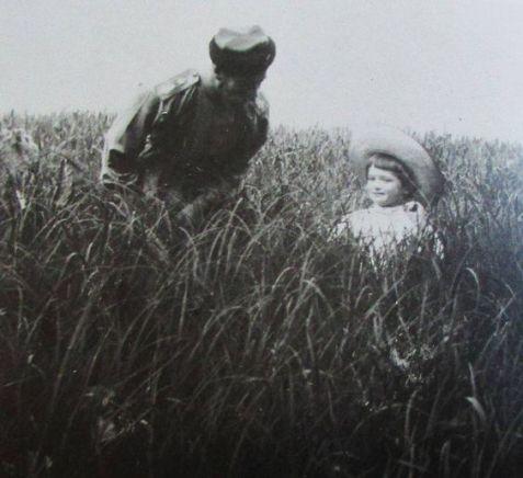 Alexei with his father Nikolai