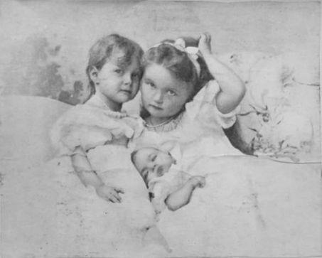 Tatiana, Olga and baby Maria
