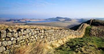 Hadrian's Wall, Schotland