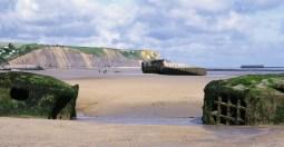 D-day beach, Arromanches, France