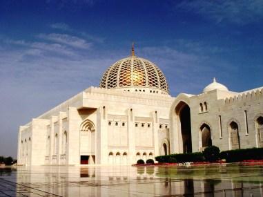 Sultan Qaboes moskee, Oman