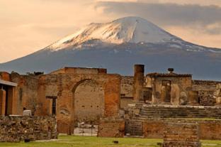 Pompeii, Napels, Italië
