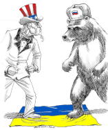 uncle-sam-v-bear-in-ukraine