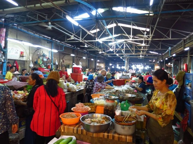 Cambodia - Siem Reap - Old Market - Collab Entry