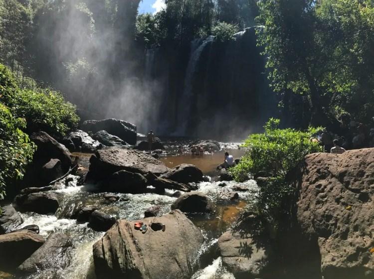 Cambodia - Siem Reap - Koulen Waterfalls -Collab Entry