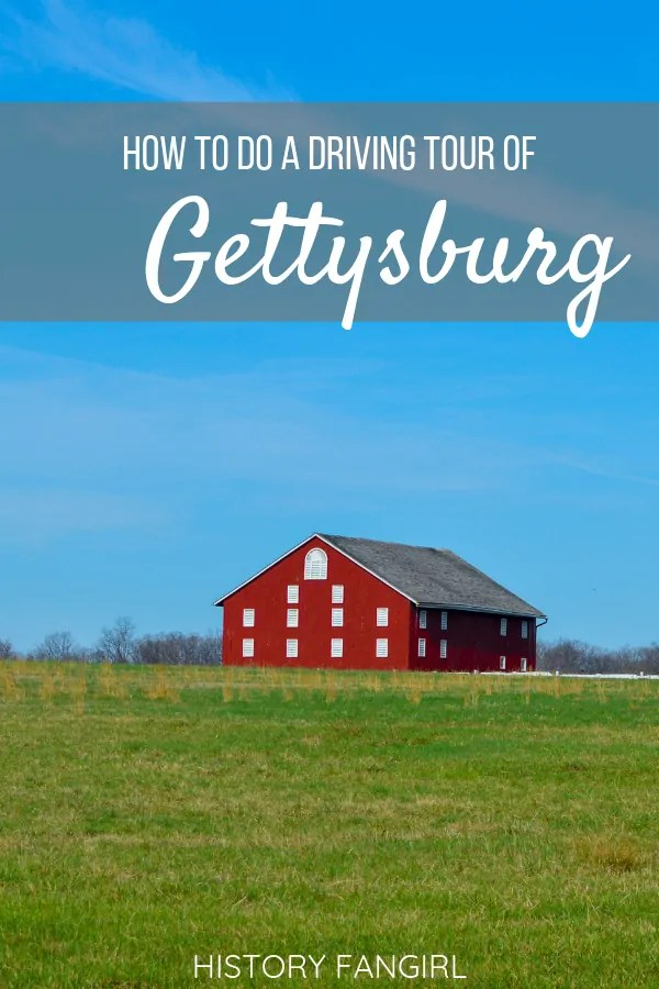 How to Go on a Self-Guided Driving Tour of Gettysburg