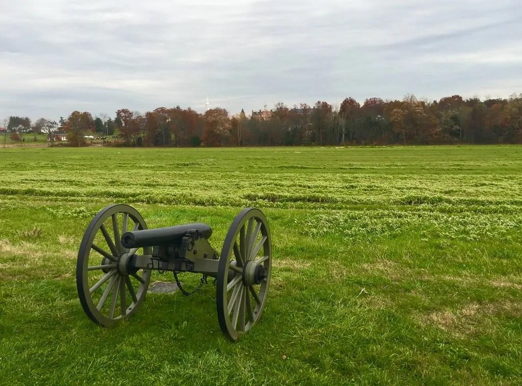 gettysburg national military park in gettysburg pa