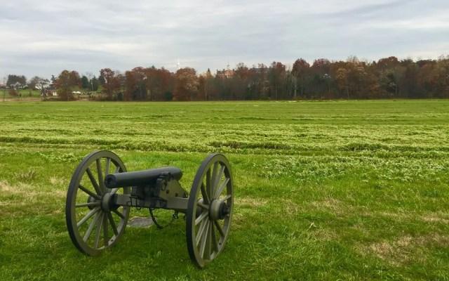 Gettysburg National Military Park in Gettysburg, Pa