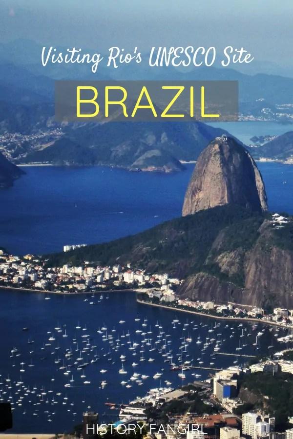 Visiting Rio de Janeiro's UNESCO Site: the Carioca Landscapes between the Mountain and the Sea