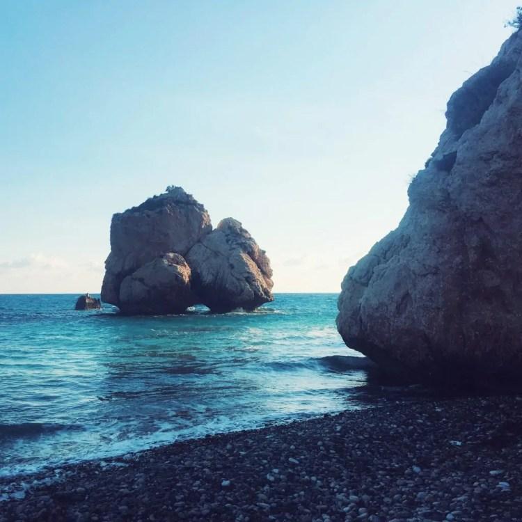 aphrodite greek mythology aphrodite's rock mediterannean sea