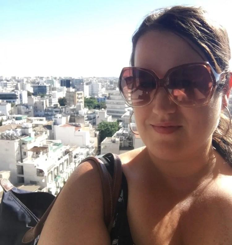 ledra street nicosia cyprus skyline view