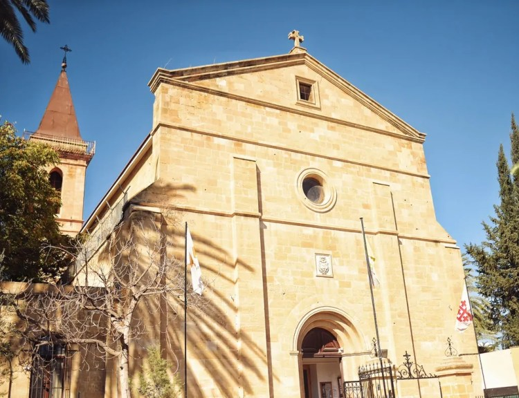 Holy Cross Roman Catholic Church in Nicosia