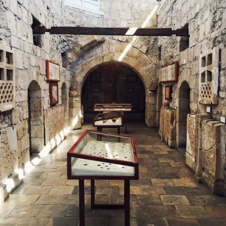The museum inside Limassol Castle