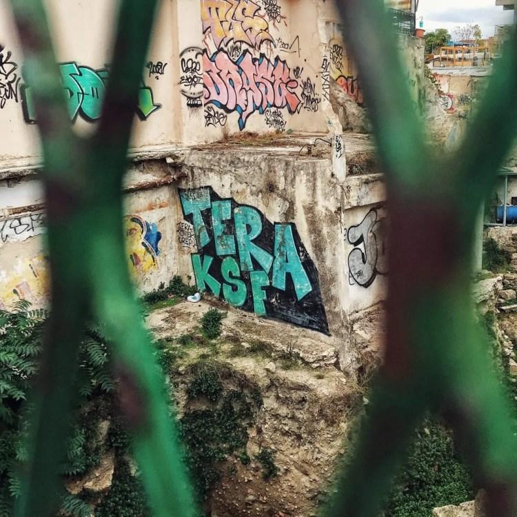 Grafitti in Monastiraki