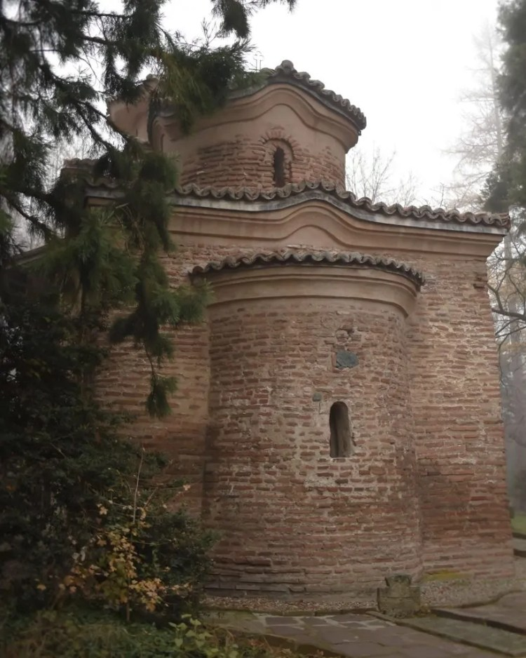 View of the earliest section of Boyana Church