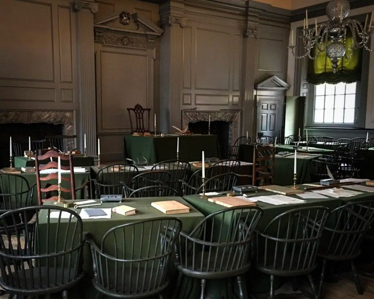 The Assembly Room at Independence Hall
