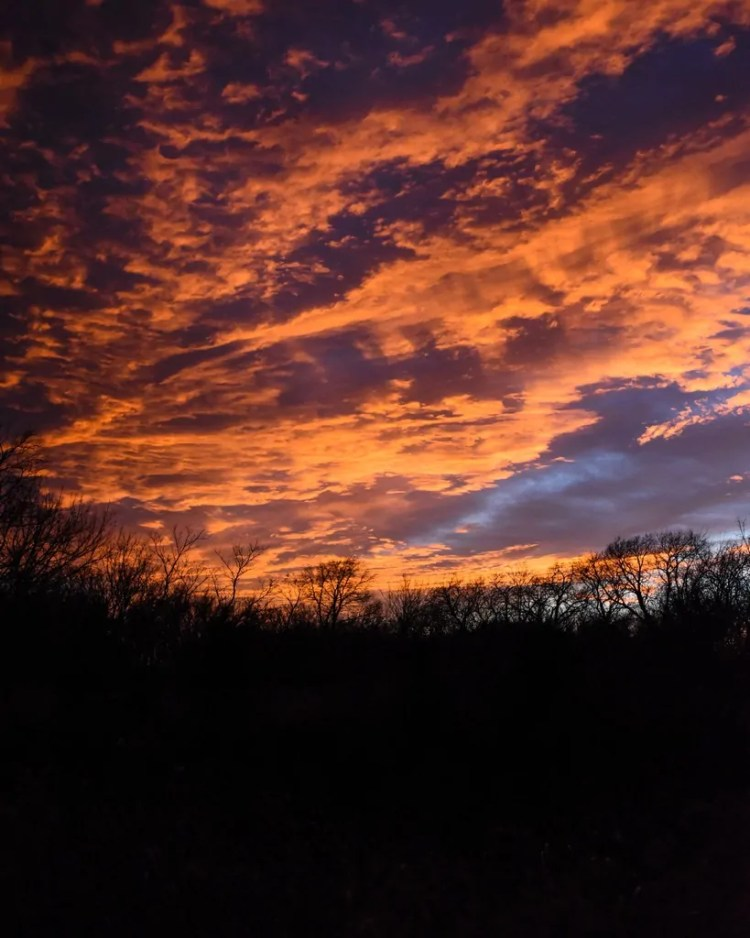 The Oklahoma City Thunder colors were selected to be the colors of the Oklahoma Sunset. They're pretty dead-on.
