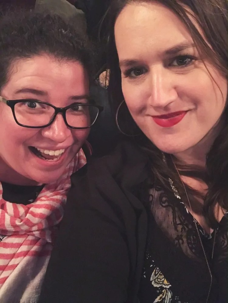 Intermission Selfie!