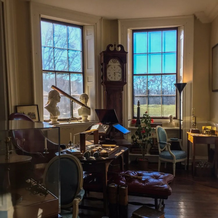 Thomas Jefferson's Study