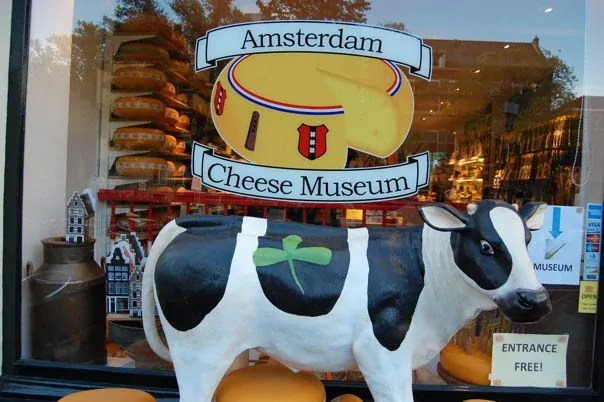 The Cheese Museum in Amsterdam