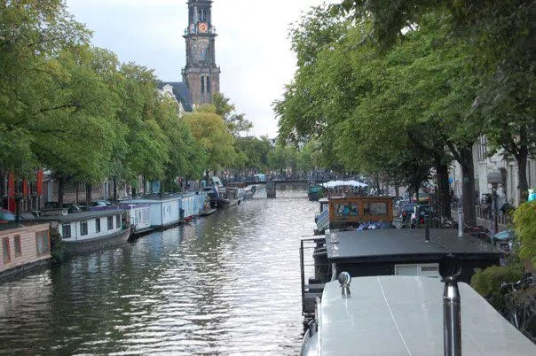 House Boats on the Canals